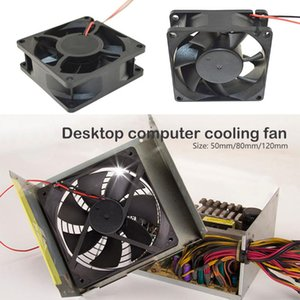 Portable Computer Fan Cooler 50mm 80mm 120 mm 12V 2 Pin PC CPU Cooling Cooler Fan for for Computer Case CPU Radiator