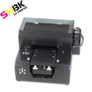 SHBK. a4 kleine Pritsche UVdrucker Universal-Automatik benutzerdefinierte Acryl-T-Shirt mit Handy Shell Drucker geprägt