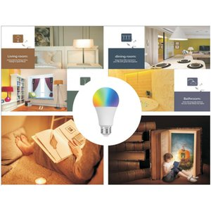 Explosion Models Fashion Home Smart Wifi Bulb Sound and Light Control Color Bulb European and American Universal WiFi Smart Color Bulb