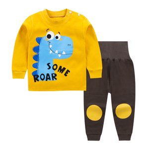 Brand Cotton Baby clothes Sets Fashion cartoon Boy T-shirt + pants baby girls clothes Sets Toddler Clothing Boy