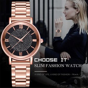 2020 New Luxury Watches Quartz Watch Stainless Steel Dial Casual Bracele Watch Stainless Steel Strap Women Watches Accessories