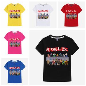 ROBLOX 소년 T 셔츠 만화 3D 인쇄 아기 소녀 T 셔츠 여름 캐주얼 높은 품질 아동 의류 2020 패션 새로운 아이 탑