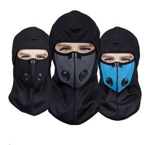 fashion Winter face mask cross border warm outdoor sports riding mask windproof mask waterproof Plush Designer masks T2I51491
