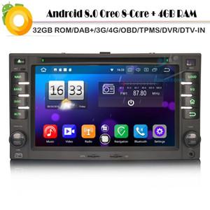 Android 8.0 Autoradio Sat Nav DAB+Octa Core WiFi 4G DVD BT GPS Bluetooth DVR DVT-IN Car Radio player for KIA CEED Sorento CARENS