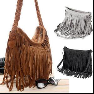 2019 HOT моды женщин сумки на ремне Bohemian Fringe Woven большой емкости сумка сумки Перевозка груза падения