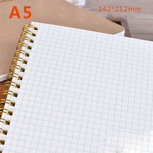 Memo Sheets 50 Coil Spiral Paper Notebook Painting Kraft Pad Book Journal Supplies Students Sketchbook Retro Note tbdyb lg2010