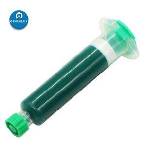 MEKANİK Lehim Akı Yeşil UV Işıklı Dolgu BGA Lehim Onarım UV Işık Kurutulmuş Maske için Mürekkep Kaynak Yağı Maske Yapıştır