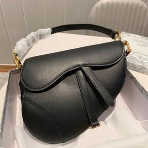 Klassisch Frauen gestickte Tasche Hufeisenschnalle Handtaschen-echtes Leder-Handtaschen Schulterriemen Tote Messenger Vintage-Handtasche