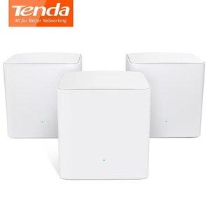 Tenda Nova İkili -Band Mw5s Kablosuz Wifi Router Ac1200 İçin Tüm Ev Kapsama Mesh Wifi Sistemi Wifi Köprüsü, App Uzaktan Yönetin