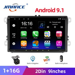 JMANCE 9 Inch Android 9.1 Car Radio Multimedia Player 2 Din GPS Stereo Navigation For VW SAGITAR  MAGOTAN V6 TOURAN SHARAN car dvd