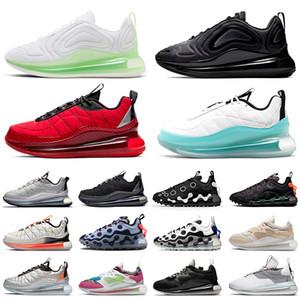 ayakkabı Nike Air Max 720 aixmax MX 720-818 ISPA OBJ Yeni Varış Erkek Bayan Koşu Ayakkabıları Üçlü Siyah Beyaz Çok Renkli koşu Açık Havada Erkekler Spor Sneakers Eğitmenler
