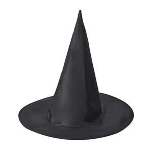 برج الكنيسة ماجيك قبعة ترويج بارد الكبار النساء هالوين الأسود قبعة الساحرة أكسفورد حزب حلي الدعائم هاري بوتر كاب بالجملة