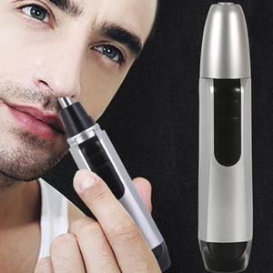 Портативный электрический Нос волос триммер для бритья бороды Удалить Clipper безопасности Уход за кожей лица Fine Tune носы и уха Триммер для мужчин женщин