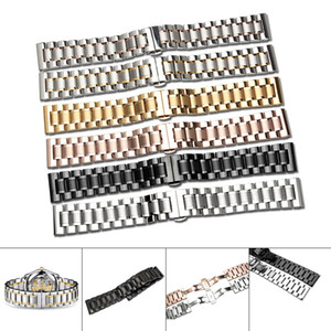 14 16 17 18 19 20 21 22 23 24mm Watch Band Strap Stainless Steel Watchband Bracelet@88