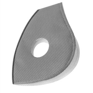 PM2.5 Activated Carbon Filter Pad for Disposable Dust Mask Face Anti Fog Replaceable Filter 5 Layers Protection