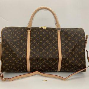 torba kadınlar yün 2019 erkek çanta el bagajı seyahat çantası erkekleri seyahati pu deri çanta büyük çanta kılıf 55cmLVLOUISVUITTON