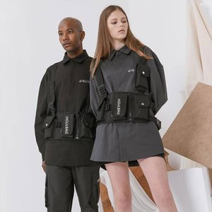 New Chest Rig Bag Hip Hop Streetwear Functional Tactical Chest Bags Cross Shoulder Bag Kanye West backpack waist bag streetwear