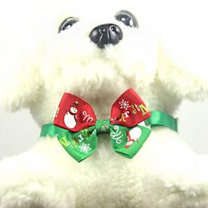 Pet Weihnachten Kopfschmuck und Krawatte Set für Welpen und Katzen Festival Grooming Zubehör Drop 0,6