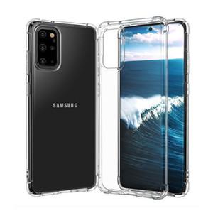 Super weiche klare TPU-Hülle für Samsung A01 Core A21S A21 A31 A41 S20 FE 5G LITE A51 A71 M51 M31S Note 20