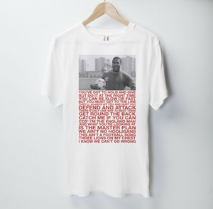 World In Motion T Shirt Sein Coming Home John Barnes England Fußball London Epl
