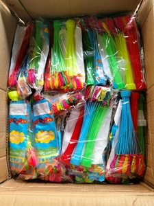 Produttori Direct Water Balloon Trumpet Iniezione rapida Estate riempito con acqua Piccoli Giocattoli Bambini Compleanno Gioca Acqua Stick Artifact24