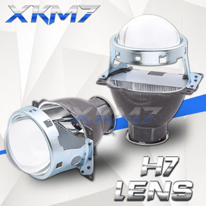 Lenses For Headlights Koito Q5 H7 Lens Single Xenon Projector 3.0 inch H7 D2S D2H LED HID Halogen Bulb Car Lights Accessories