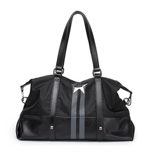 2020 Дорожная сумка Пентагона Нейлон Оксфорд Водонепроницаемые сумки высокой емкости одного плеча наклонная мужчин и женщин вещевые мешки