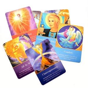 Junta Inglés tarjeta 2020 Cubierta cartas de Magic Card arcángel Calidad cubierta de Oracle El destino del partido Juego completo de Tarot Tarot Magia Tierra Alta bbyGKc