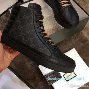 Hot Sell 2019Mens Designer Shoes luxurys Womens Low Cut G Flower Stampa Sneaker Uomo Donna ACE Casual Scarpe S03