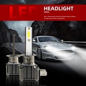 2PCS M2 H1 LED Headlight Kit Bulbs 6000K Hi Low Beam Fog Lights Super Bright Car Auto Accessories Parts
