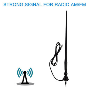 Waterproof Marine Boat Radio Antenna FM AM Aerial Car Rubber Duck Dipole Flexible Modulators For RV ATV UTV Tractor Motorcycle GPS