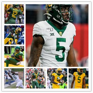College Baylor Bears Football Jersey Denzel Mims JaMycal Hasty John Lovett Gerry Bohanon Charlie Brewer II Chris Platt