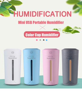 230ml Air Humidfier USB Air Purifier Freshener LED Aromatherapy Diffuser Mist Maker for Home Auto Mini Car Humidifiers
