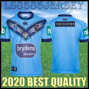 20 21 Super Rugby League Mens Lan Holden Jersey australiano gallo Bull Stormer cane testa di cane Navy Jaguar Black Shark 2020 2021 di rugby Jersey