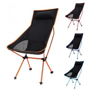 Alaşım Seyahat Ultralight Katlanır Sandalye Superhard Açık Kamp Sandalye Taşınabilir Plaj Yürüyüş Piknik Koltuk Balıkçılık Araçları Sandalye VT1643