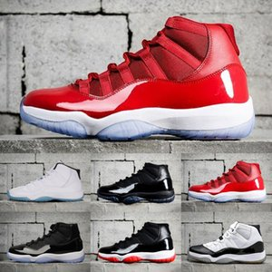 2020 Real Carbon Fiber Jumpman 11 11s Concord 45 Men Women Gym Red Midnight Navy RETRO Basketball Sh Nakeskin