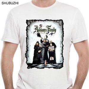 Addams Family Mens engraçado do filme camisetas Homens Streetwear camisetas Moda T-shirt personalizada Tops Mens T-Shirts