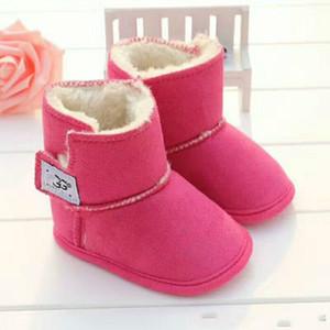 Bebek Toddler Prewalker Ayakkabı Boyutu 11 cm-12 cm-13 cm 2020 Yeni Çizmeler Kış Bebek Ayakkabıları Yenidoğan Erkek ve Kız Sıcak Çizmeler