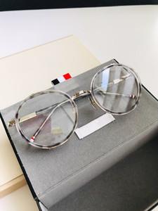 New S813 Luxury Germany Glasses Fashion Men Women Designer Round Retro Style Titanium Full Frame High Quality Free Come With Case 813