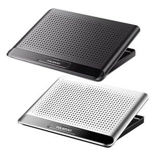 1pcs Gaming Portable Laptop Cooler Deux ports USB de grande taille Laptop Cooling Pads Vitesse / Hauteur support réglable pour ordinateur portable