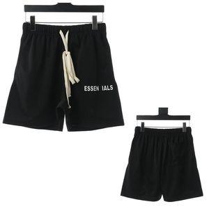 2020 Homens Shorts Reflective calções Rua Vintage elástico na cintura exterior Calças Curtas Esporte soltas Casual Shorts Hip Hop