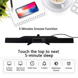 Clock Digital Table Lighting Led Alarm Sn Up Wake Despertador With Thermometer Display Function Stand Electronic Timer aZjTi bdetoys