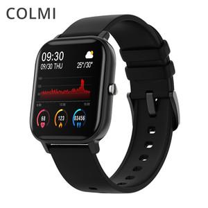 COLMI P8 1.4 inch Smart Watch Men Full Touch Fitness Tracker Blood Pressure Smart Clock Women GTS Smartwatch