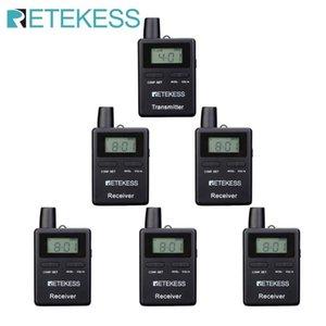 Retekess109 2,4 GHz 50 canales de radio-guía del sistema para el sistema de traducción Iglesia Viajar Museo Entrenamiento de la fábrica