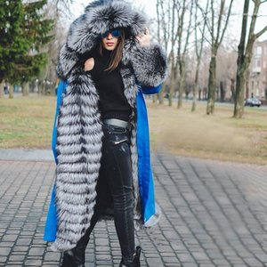 Fur Panelled Fashion Womens Winter Jacket Plus Size Casual Clothes Designer Womens Trench Coats Removable Faux