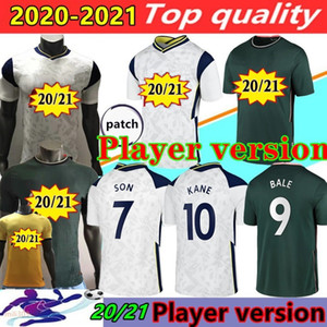 Player version 20 21 Spurs Accueil BALE SON Football Maillots 2020 2021 Loin KANE LLORENTE DELE LUCAS LO hommes jersey CELSO Maillot de football