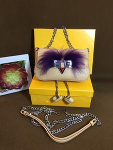 Nouveau sac de mode petit carré de concepteur, dames sac messager d'une épaule, petit sac à chaîne oeil monstre, livraison gratuite usine