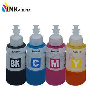 Kit de kits de recarga de tinta para cartucho de impresora L1300 L456 L655 L200 a granel C13T66414A T6642 T6643 T6644 TRANSMISIÓN DE BOTELLAS DE 70 ML