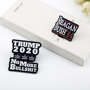 Factory Custom Design US Biden Trump Presidential Election Enshrine Breastpin Metal Badge Pin Emblem DHC2013