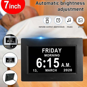 7 inç HD Dijital Fotoğraf Çerçevesi 1024x600 HD Ultra İnce LED Elektronik Photo LCD Çerçevesi